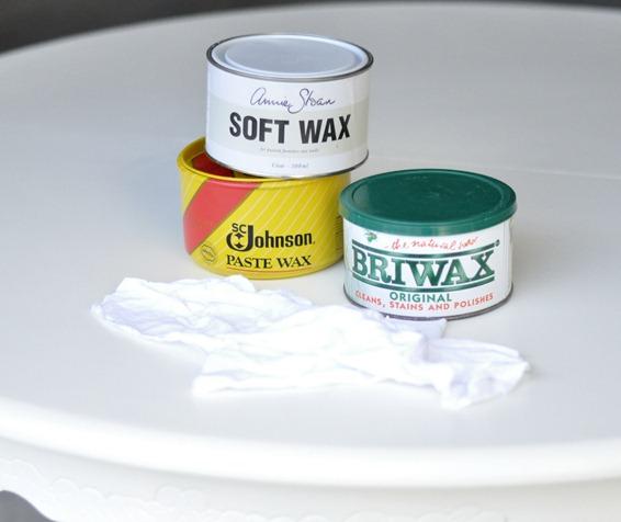 various paste waxes