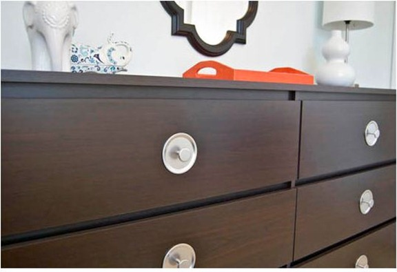 mid century inspired dresser knobs mason jars apartment therapy