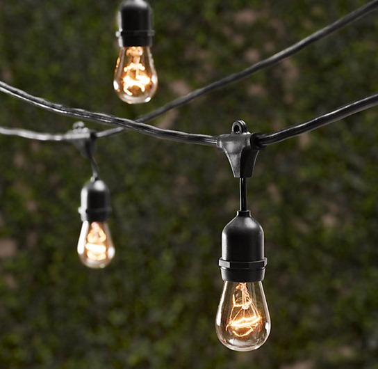 outdoor edison lightbulbs