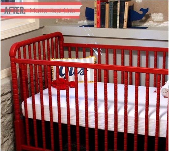 felt and honey baby crib with ascp