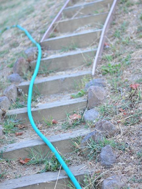 hose on path