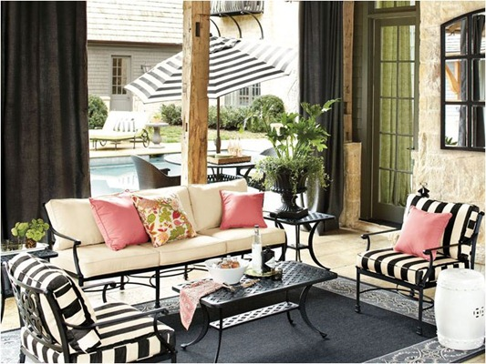 Summer Colour Analysis | Centsational Style on Black And White Backyard Decor  id=61865