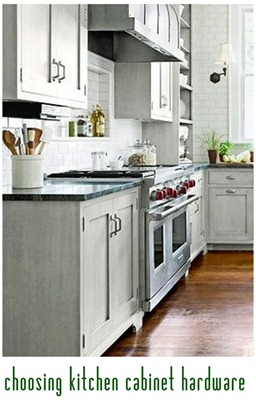 Sunday reading reminder centsational style for Choosing hardware for kitchen cabinets