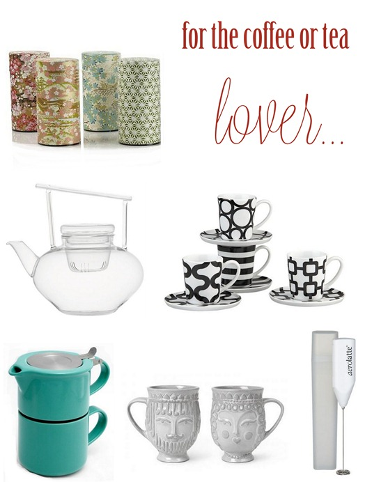 coffee or tea lover gifts