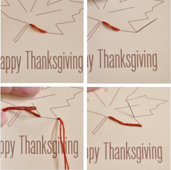 happy thanksgiving tag steps