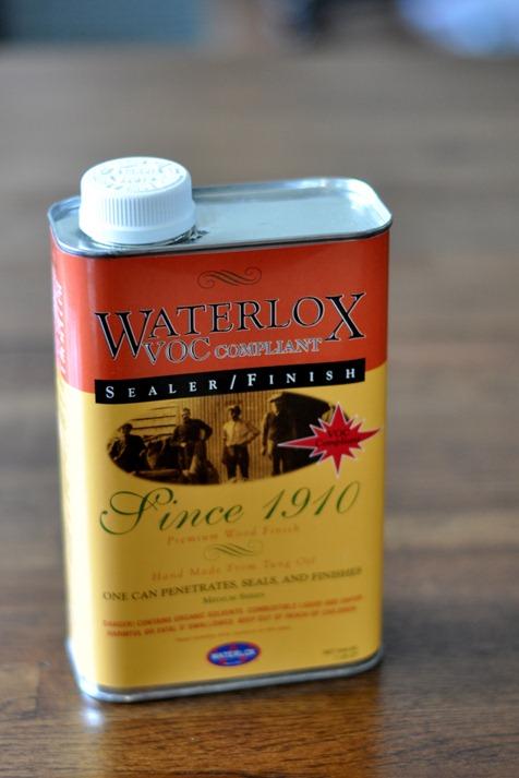 waterlox finish