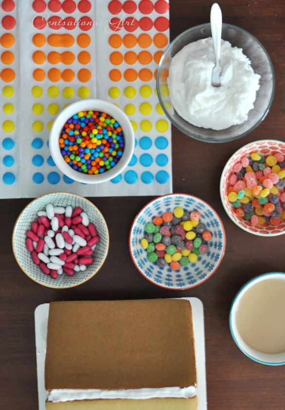 candy for gingerbread houses