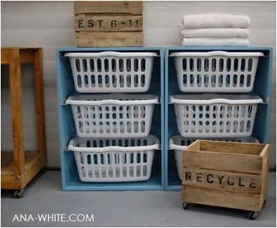 ana white laundry solution