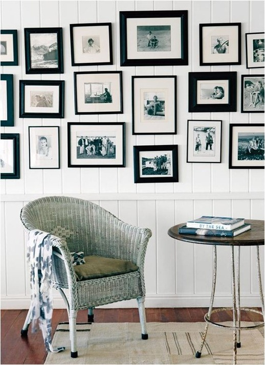 beach bungalow black and white photography gallery