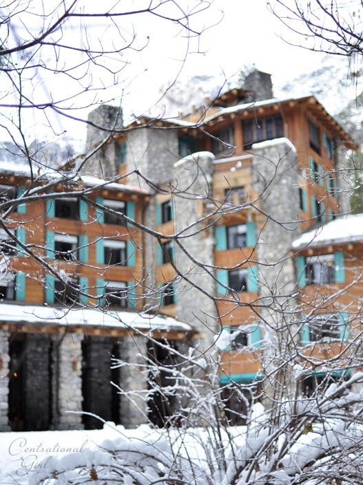 winter at ahwahnee hotel