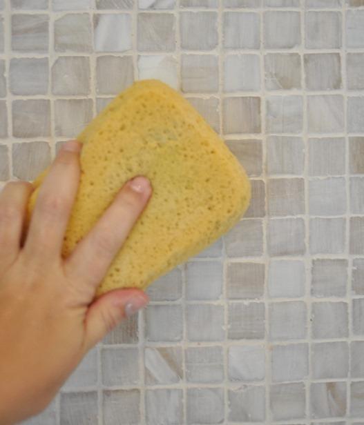 sponge grout