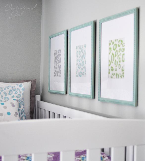 framed leopard print