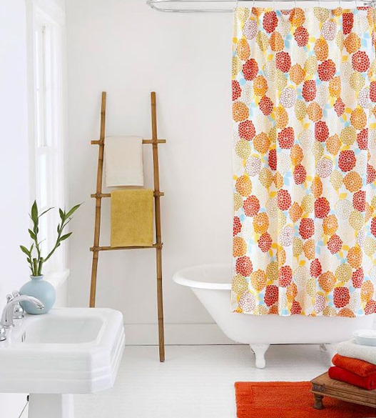 floral shower curtain bhg
