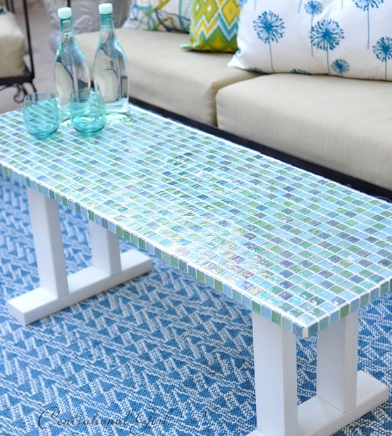 Cute iridescent table top