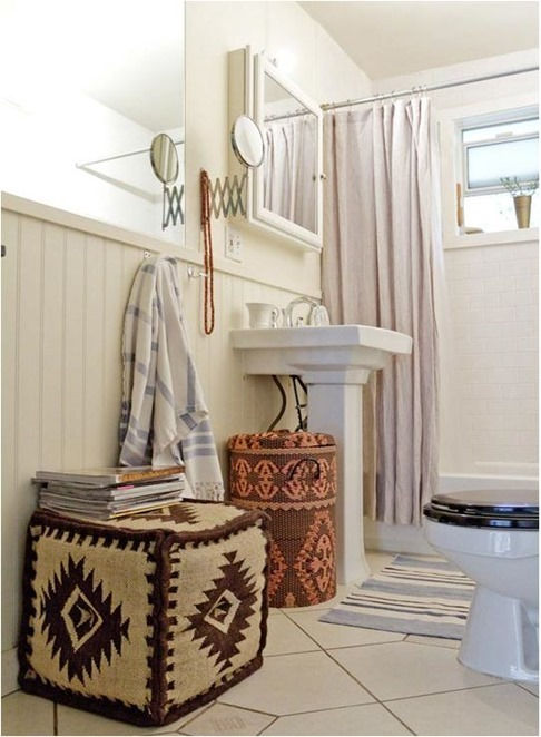 Wonderful Bathroom Decorating Ideas For Renters Intended Inspiration
