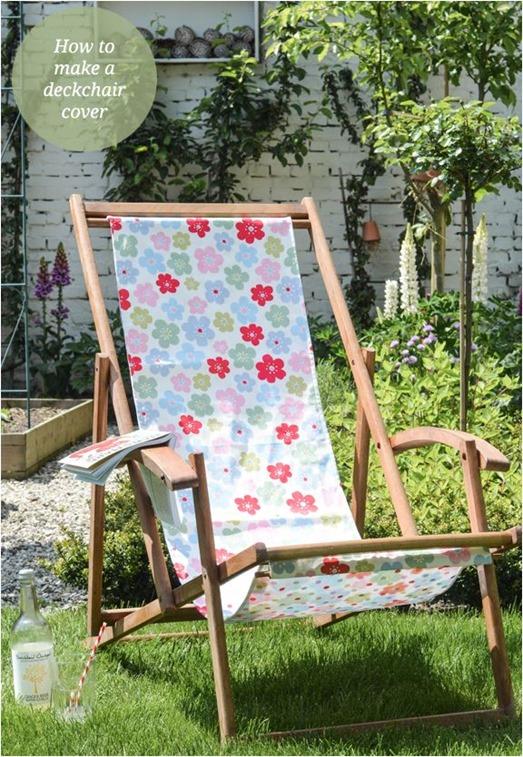 diy deckchair cover yvestown blog
