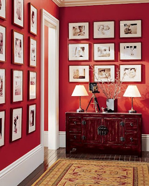 pottery barn red wall