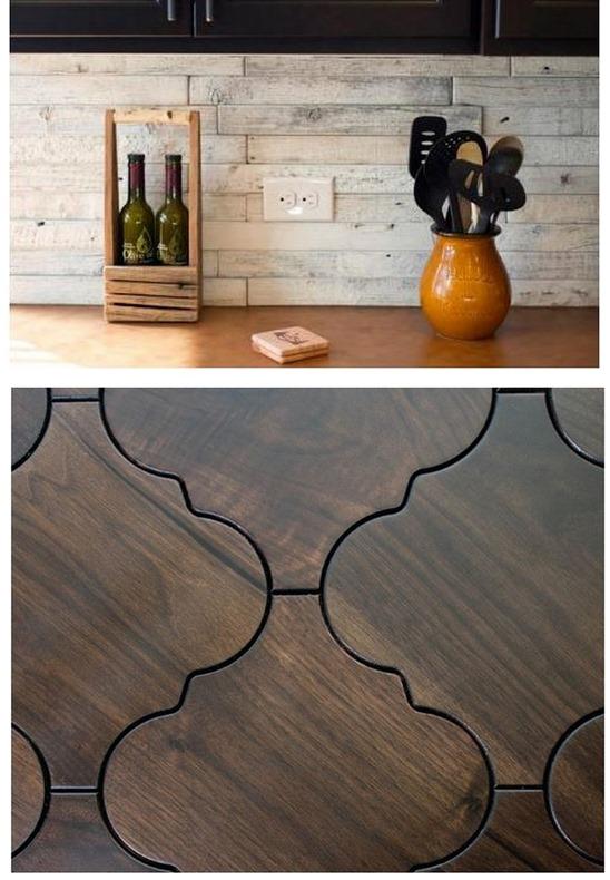wood lookalike tile
