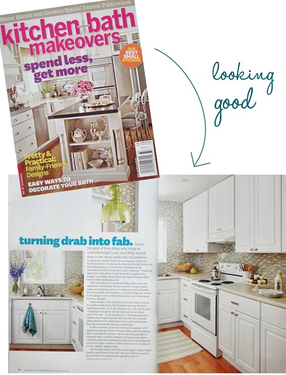Cool kitchen and bath mag feature