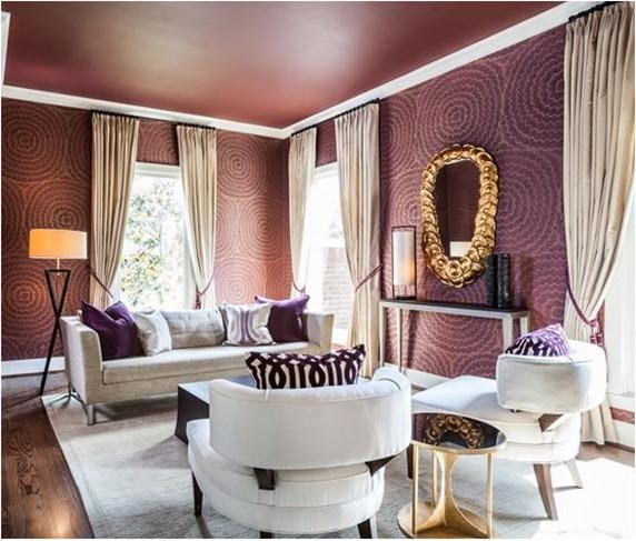 laura u interior design purple room