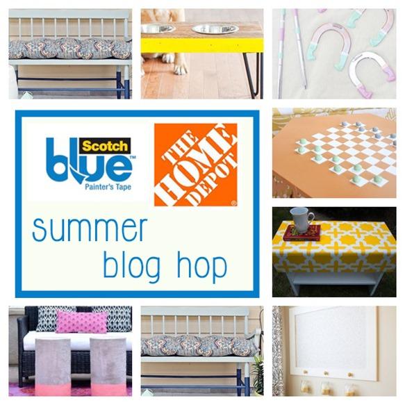 3m ScotchBlue Tape and Home Depot Summer Blog Hop