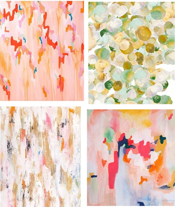 Ideal abstract prints