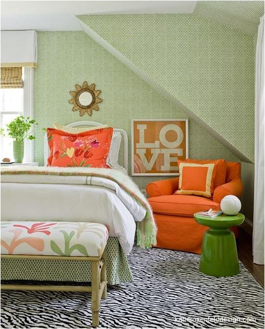 orange and green katie rosenfeld