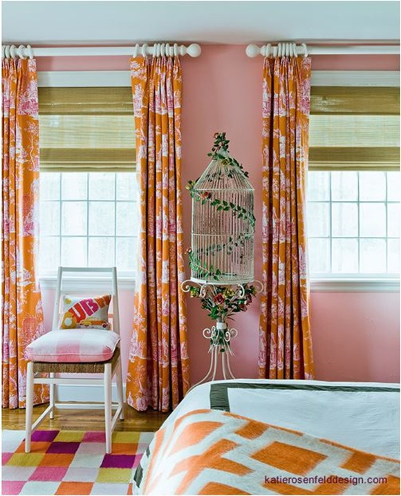 pink and orange katie rosenfeld