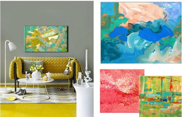 abstract art colorrich