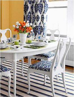 decorate with bold pattern