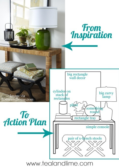 inspiration to action decorating