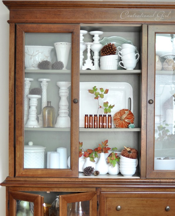 wood hutch and buffet