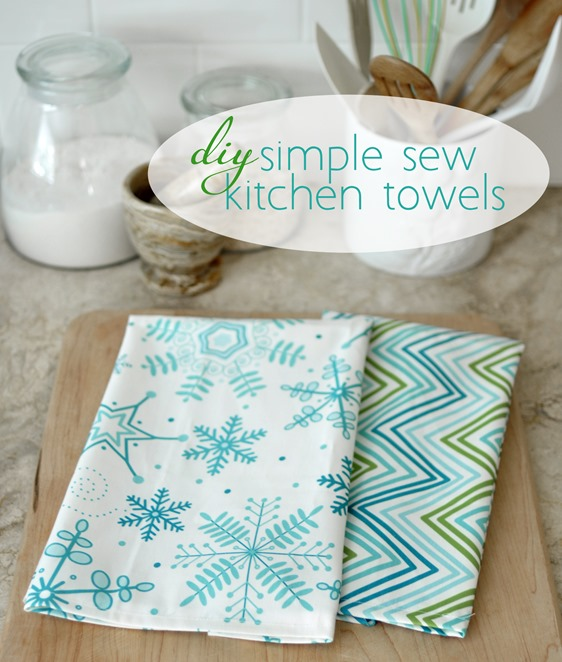Vinegar Dish Rags: Simple Sew Kitchen Towels