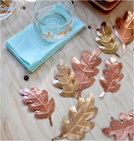 metal leaves oh happy day