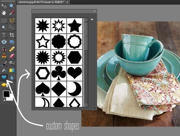 custom shapes