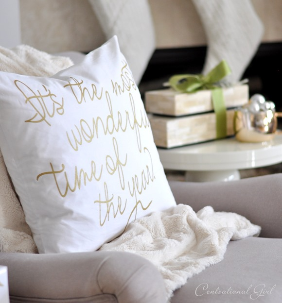 most wonderful time pillow