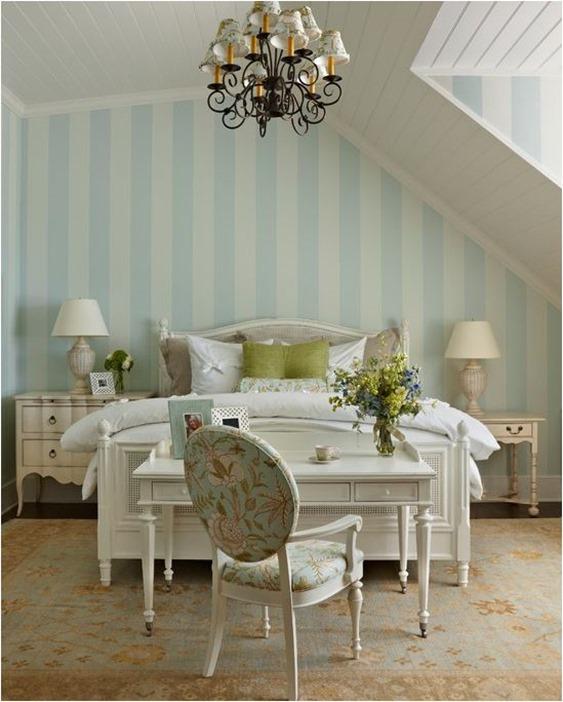 elegant cottage bedroom
