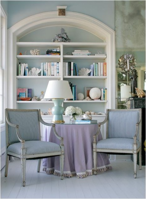 pale pastel sitting room