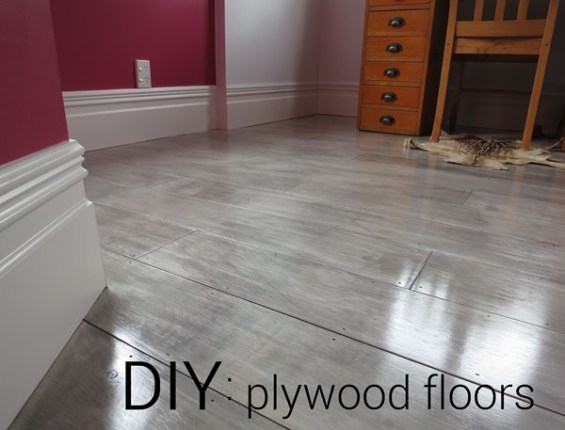 Diy plywood plank floors centsational style graywash plywood floors solutioingenieria