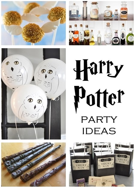 harry potter party ideas crafts 20 harry potter ideas centsational style 6695