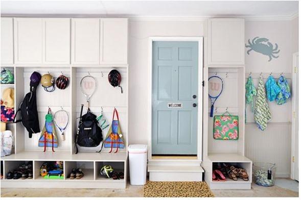 organized pretty garage i heart organizing