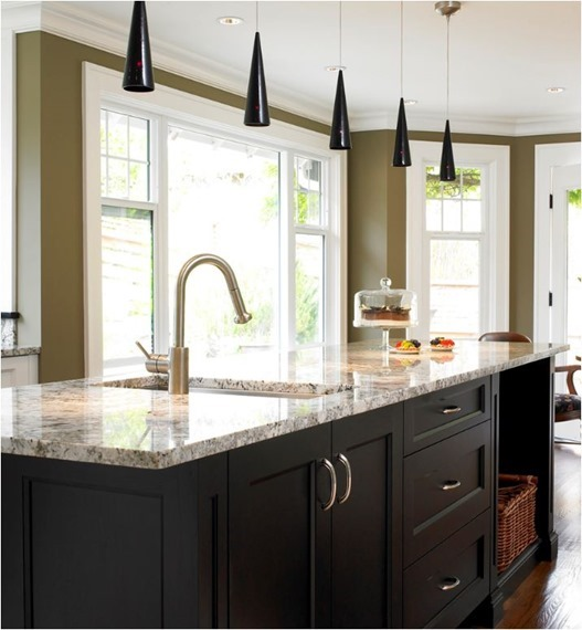 Kitchen Countertop Stone Options: Kitchen Countertop Options: Pros + Cons
