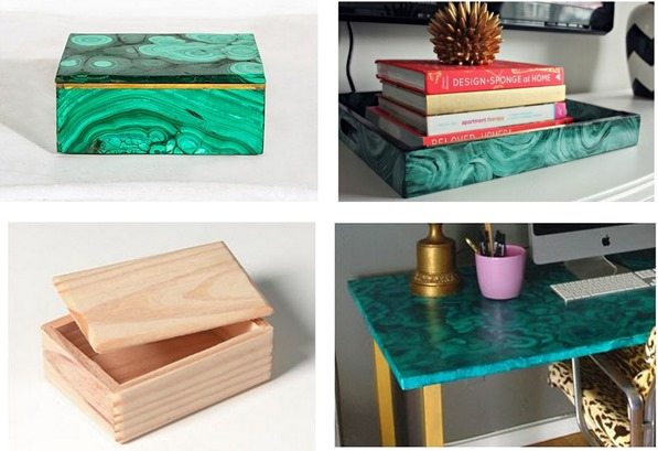 malachite box diy