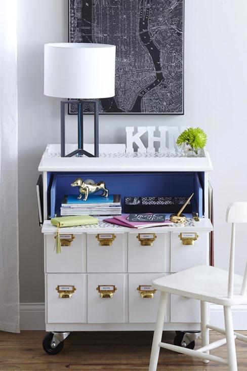 bhg makeover ikea dresser to desk inmyownstyle