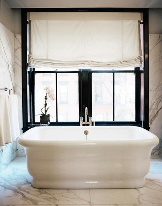 white freestanding tub lonny