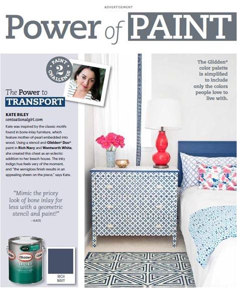 power of paint glidden feature