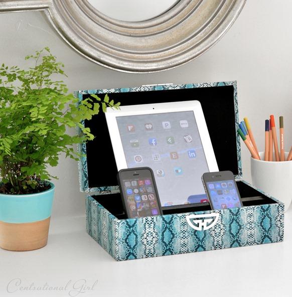 box charging station
