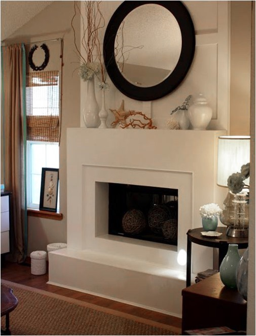 Contemporary Fireplace Ideas Centsational Girl