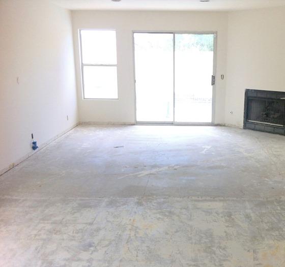 demo floor clean