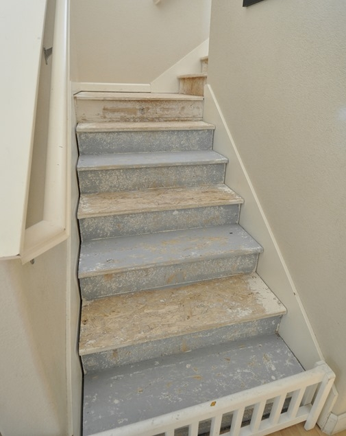 The Happy Staircase Centsational Style | Painted Stairs With Carpet | Middle | Design | Diamond Pattern | Victorian | Laminate